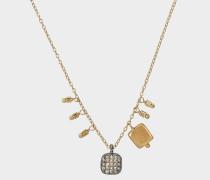 Mimi Halskette aus goldfarbenem Vermeil