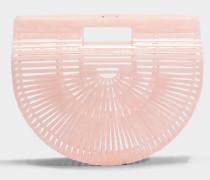 Acryl Ark small Tasche aus rosanem Acryl