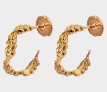 Fine Jewellery Kreolen - 18K Gold Mini Wheat