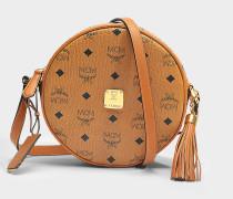 Heritage Tambourause Tasche in Cognac sandfarben