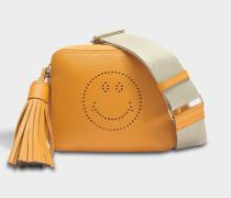 Smiley Crossbody Tasche aus Manuka Sugar Leder