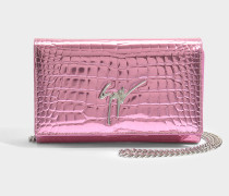 Elettra Small Bag aus rosanem Elettra Leder