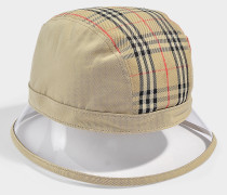 1983 Check Bucket Hat aus sandfarbener Baumwolle