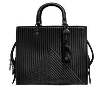 Rogue Shoulder Bag aus schwarzem Kalbsleder