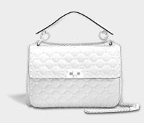 Free Rockstud Spike Medium Shoulder Bag aus Nappaleder