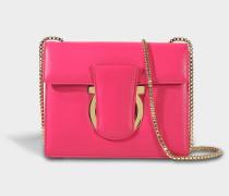 Thalia Crossbody Tasche aus fuchsia Mufasa Leder