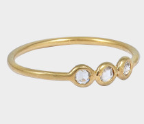 Laine Ring aus 24K goldfarbenem-plattiertemem Silber