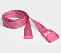 Gürtel Classic Industrial aus pinkem Synthetikmaterial