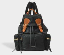 Medium Prorsum nylon rucksack aus schwarzem Nylon