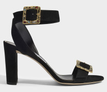 Sandalen Dacha jeweled suede