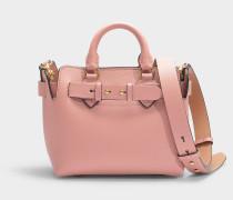 The Baby Belt Bag in Ash Rose Calfskin