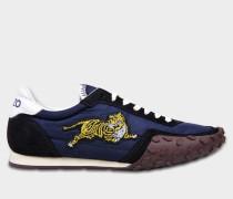 Move Sneaker aus navyblauem Nylon und Gummi