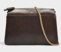 Ella Tasche aus Khaki Python Kalbsleder