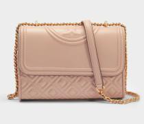 Fleming Small Convertible Shoulder Bag aus Nerz Lammleder