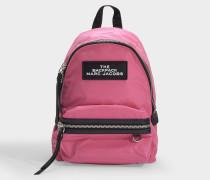 The Backpack  Rucksack aus pink Nylon