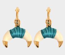 Ohrringe Takayama Earrings Bakelit und goldenem Horn
