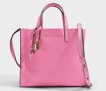 Handtasche The Mini Grind aus rosa Kalbsleder