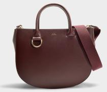 Handtasche Marion aus Bordeauxrotem Kalbsleder