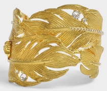 Tribute Native American Armband aus goldfarbenem Messing