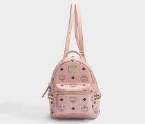 Rucksack Stark Extra-Mini aus rosa PVC