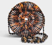 Acryl Luna Tasche aus Tortoise Acryl