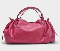24 GD Tasche aus fuchsiafarbenem Leder