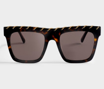 Bio-injected Sonnenbrille aus Havana Bio-Acetat