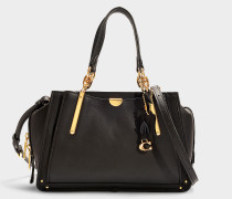 Dreamer Bag in Black Smooth Grain Leather