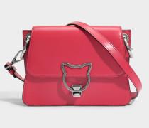 Kat Lock Crossbody Tasche aus Ladybird glattem Kalbsleder