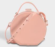 Tunilla Mini Circle Tasche aus hellrosanem Kalbsleder
