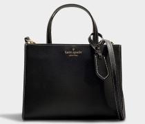 Handtasche Sam Thompson Street aus schwarzer Baumwolle
