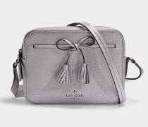 Hayes Street Arla Camera Bag in Anthracite Pebble Leather