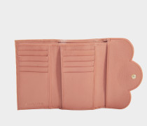 See by Chloé Polia Compact Medium Geldbörse aus Cheek Lammleder