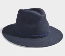 Hut Rico aus Filz in der Farbe Blau
