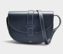 Handtasche Eloise aus marineblauem Kalbsleder