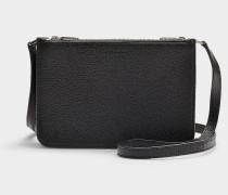 Handtasche Penhurst aus schwarzem Ziegenleder
