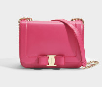 Vara Rainbow Small Bag aus fuchsia Liberty Leder