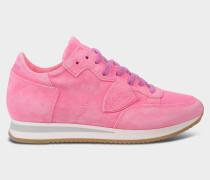 Sneakers Tropez neon mit Wildleder