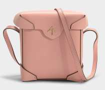 Mini Handtasche Pristine aus pflanzlichem Kalbsleder in Rosa
