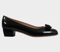 Vara Patent Pumps aus schwarzem Naplak Leder