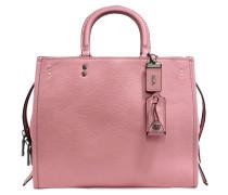 Rogue Shoulder Bag aus rosanem Kalbsleder