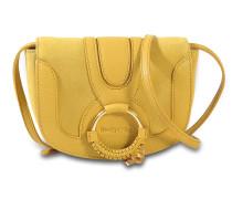 See by Chloé Hana Mini Crossbody Tasche aus hellem goldfarbenem Ziegenleder