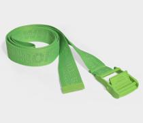 Gürtel Classic Industrial aus grünem Synthetikmaterial
