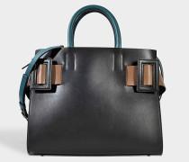 Handtasche mit Gürtel-Details