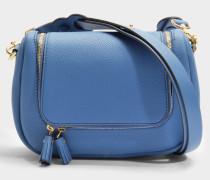 Vere Small Soft Satchel Tasche aus Periwinkle Mini Leder