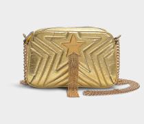Mini Handtasche Stella Star aus Alter Nappa Vergoldet