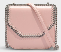 Mini Handtasche Falabella Box aus Synthetikmaterial New Blush