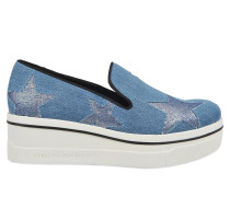 Binx Stars Denim Metallic Sneakers