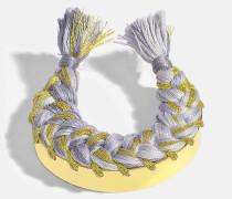 Copacabana Bracelet aus Jersey 18K vergoldetem Messing