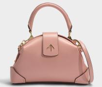 Handtasche Demi aus pflanzlichem Kalbsleder in Rosa